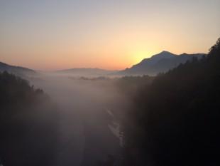 雲海の秩父路