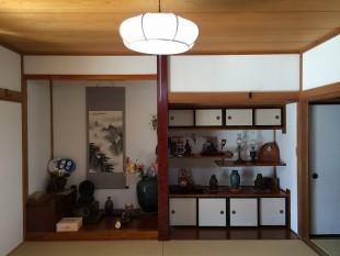 きれいな白で本格和室が引き立ちます
