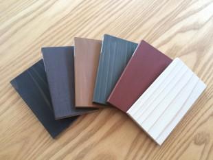 自然塗料6色をご用意しております。それぞれが素敵ですね