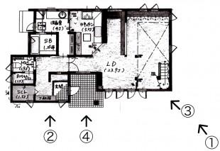 1F 平面図