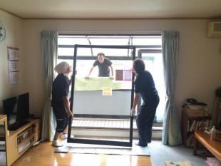 内窓設置を2カ所行いました
